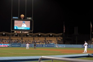 LOS ANGELES DODGERS VS ATLANTA BRAVES