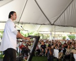 LOS ANGELES DODGERS ANDRE ETHIER VISITS CITY OF HOPE