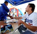 LOS ANGELES DODGERS V FLORIDA MARLINS