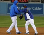 Dodgers Winter Development evening workout