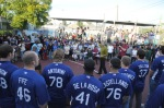 """Los Angeles Dodgers Winter Development visit """"A Place Called Home"""""""