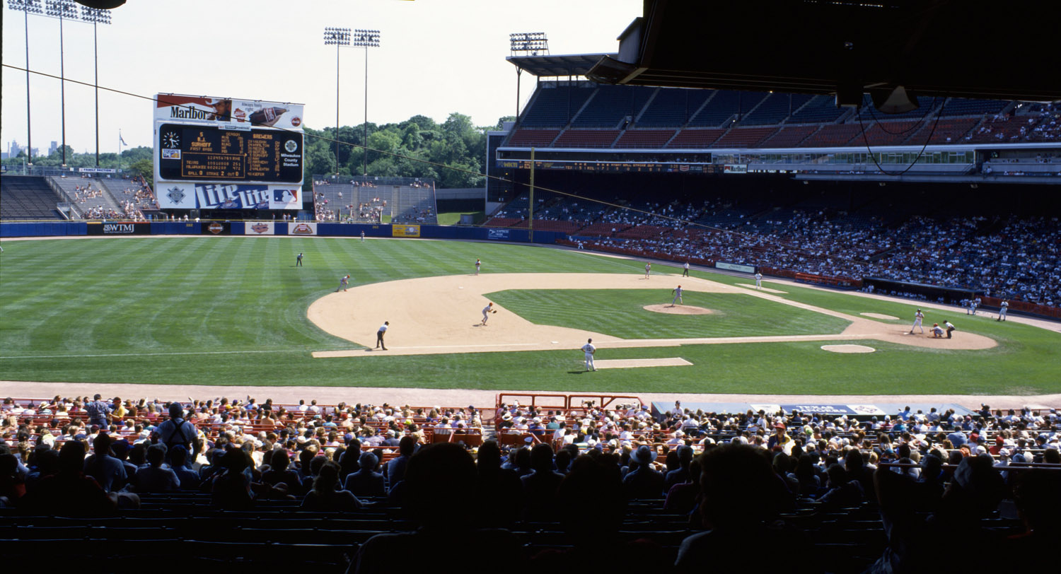 Milwaukee County Stadium « Dodgers Photog Blog