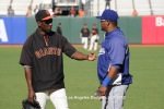 LOS ANGELES DODGERS @ SAN FRANCISCO GIANTS