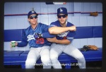 Tim Wallach and Eric Karros    © Jon SooHoo/Los Angeles Dodgers