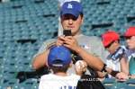 LOS ANGELES DODGERS AT LOS ANGELES ANGELS OF ANAHEIM