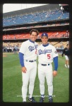 Eric Karros and Dave Hansen-May 1993    © Jon SooHoo/Los Angeles Dodgers