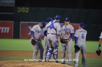 LOS ANGELES DODGERS AT OAKLAND ATHLETICS