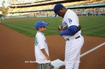 LOS ANGELES DODGERS v CINCINNATI REDS