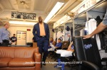 LOS ANGELES DODGERS MAGIC JOHNSON ADDRESSES THE TEAM PRIOR TO GAME AGAINST THE ARIZONA DIAMONDBACKS