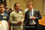 LOS ANGELES DODGERS MANAGER DON MATTINGLY VISITS THE NYSE
