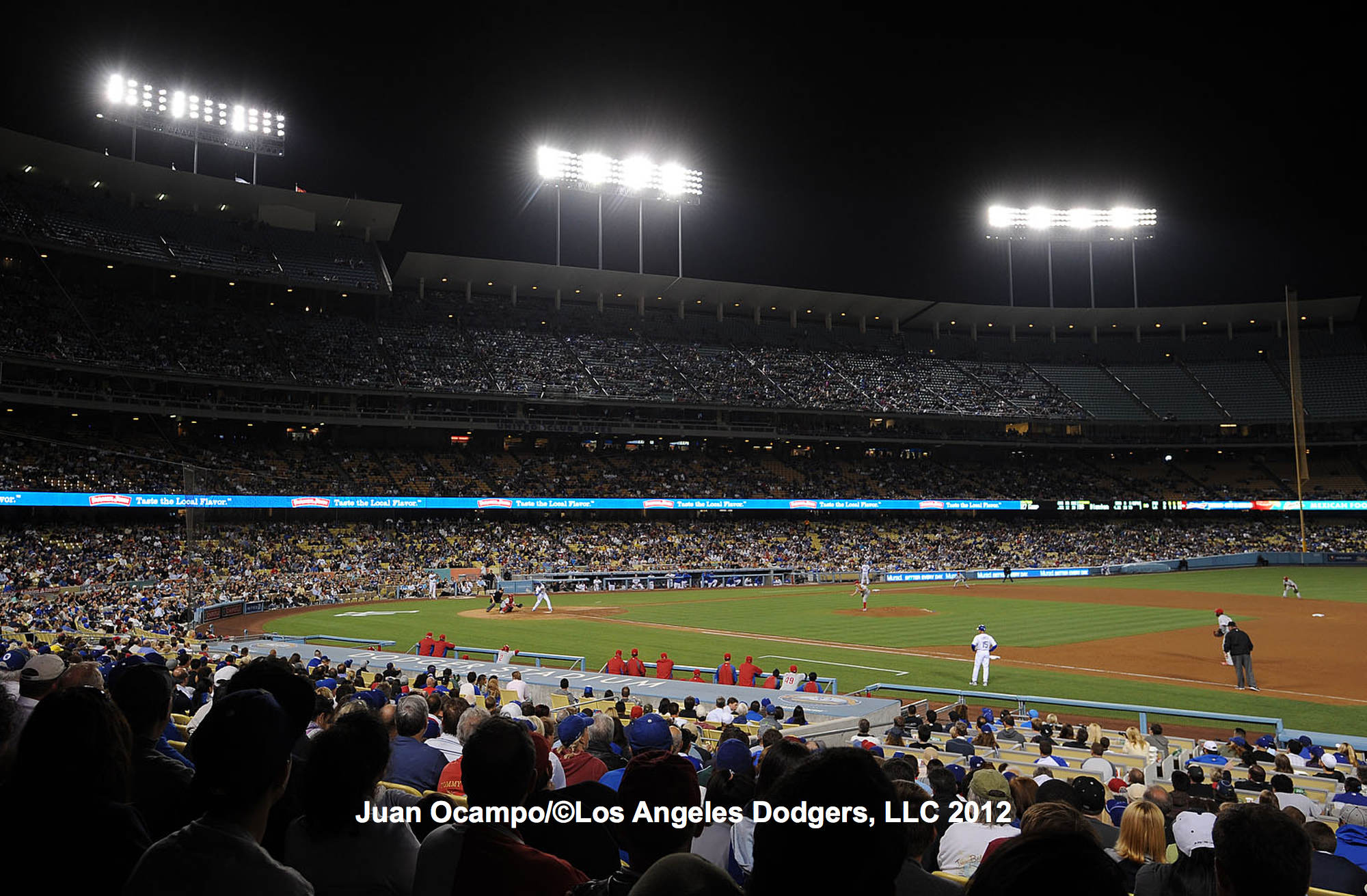 Los Angeles Dodgers Baseball Stadium Los Angeles Dodgers v