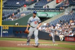 LOS ANGELES DODGERS AT ATLANTA BRAVES