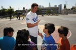 LOS ANGELES DODGERS VISIT UNION ELEMENTARY SCHOOL