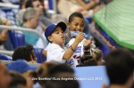 LOS ANGELES DODGERS AT FLORIDA  MARLINS
