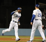 LOS ANGELES DODGERS V MIAMI MARLINS
