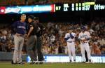 LOS ANGELES DODGERS V COLORADO ROCKIES