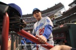 LOS ANGELES DODGERS AT CINCINNATI REDS