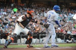 LOS ANGELES DODGERS VS SAN FRANCISCO GIANTS
