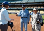 LOS ANGELES DODGERS VETERAN'S DAY BATTING PRACTICE