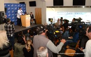LOS ANGELES DODGERS HYUN-JIN RYU PRESS CONFERENCE