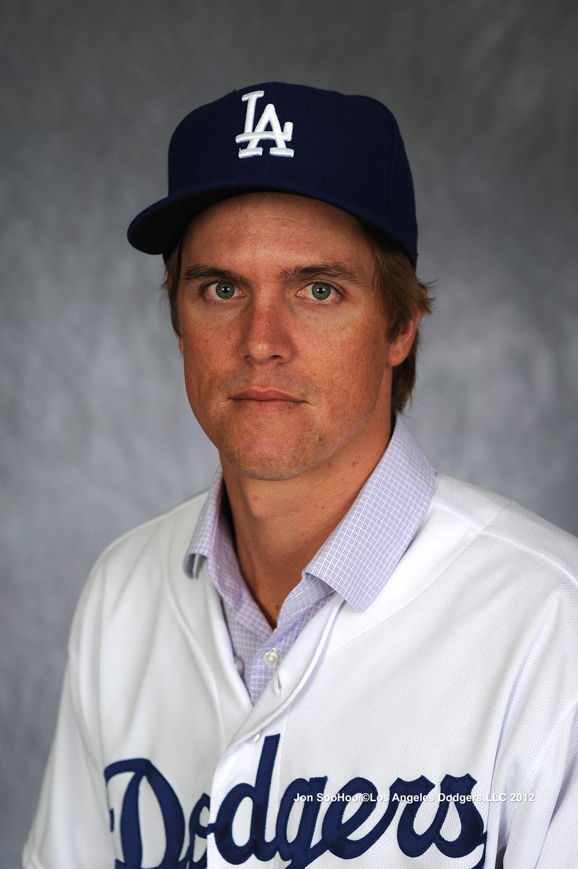 Zack Greinke Dodgers Press Conference LOS ANGELES DODGERS ZA...