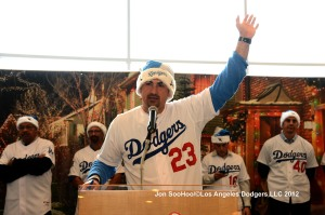 LOS ANGELES DODGERS ANNUAL HOLIDAY PARTY