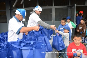 LOS ANGELES DODGERS ANNUAL CHILDREN'S HOLIDAY PARTY