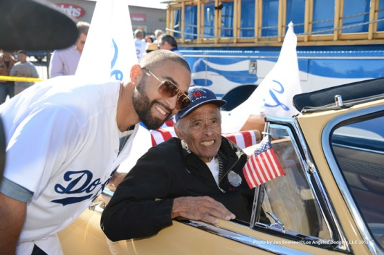 LOS ANGELES DODGERS AT MARTIN LUTHER KING PARADE