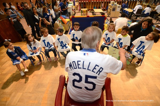 LOS ANGELES DODGERS CARAVAN AT SOUTHEAST YMCA