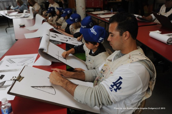 DODGERS CARAVAN AT INNER CITY ARTS