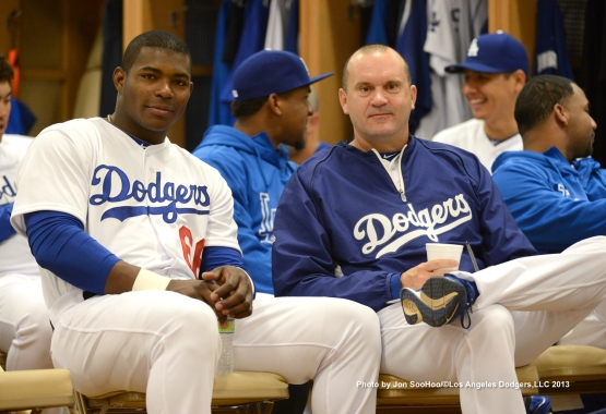 LOS ANGELES DODGERS FIRST FULL SQUAD WORKOUT