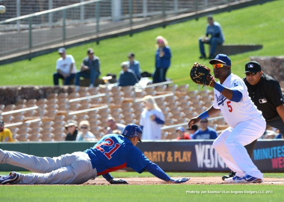 CHICAGO CUBS VS LOS ANGELES DODGERS