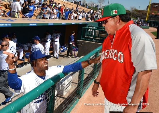MEXICO VS LOS ANGELES DODGERS
