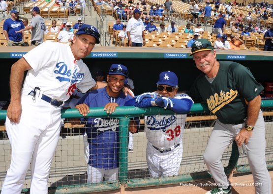 OAKLAND ATHLETICS VS LOS ANGELES DODGERS