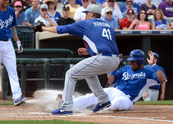 LOS ANGELES DODGERS VS KANSAS CITY ROYALS