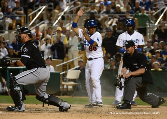 CHICAGO WHITE SOX VS LOS ANGELES DODGERS