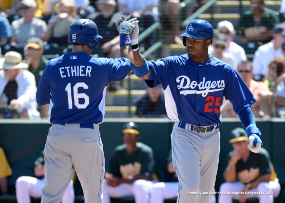 LOS ANGELES DODGERS VS OAKLAND ATHLETICS
