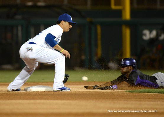 COLORADO ROCKIES VS LOS ANGELES DODGERS