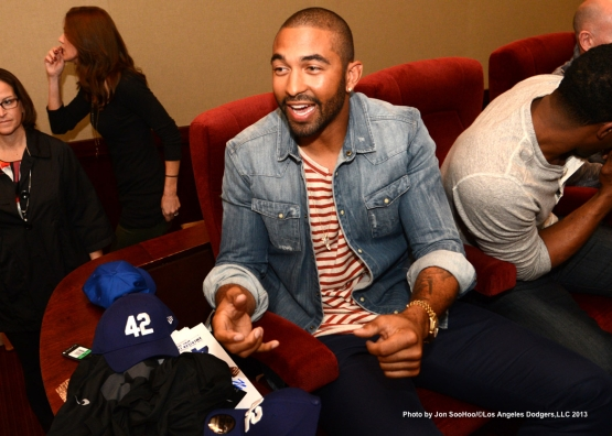 MATT KEMP SPONSORS SHOWING OF- 42