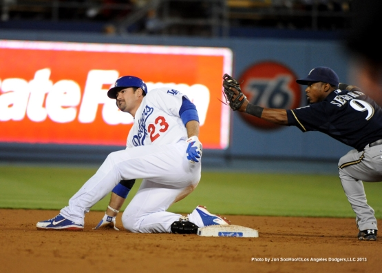 MILWAUKEE BREWER VS LOS ANGELES DODGERS