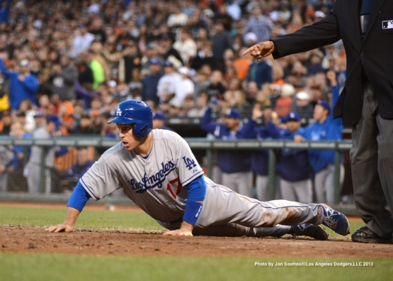LOS ANGELES DODGERS VS SAN FRANCISCO