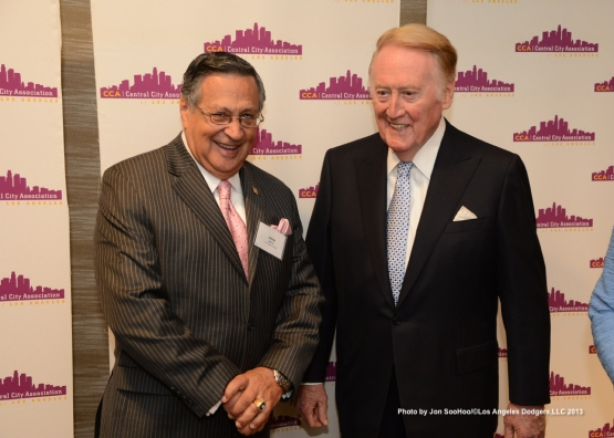 VIN SCULLY RECEIVES LIFETIME TREASURE AWARD FROM CENTRAL CITY OF LA