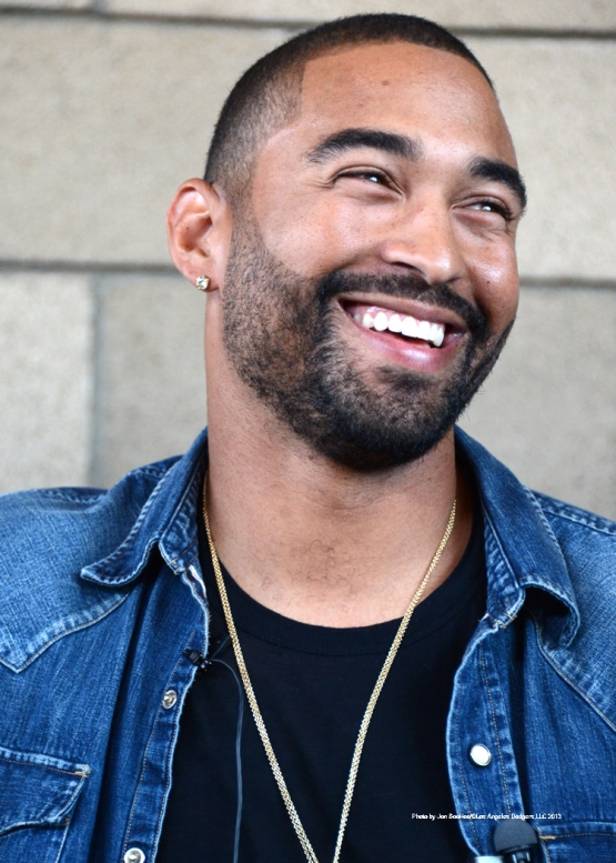 DODGERS MATT KEMP AND MARLINS PIERRE VISIT MLB URBAN YOUTH ACADEMY