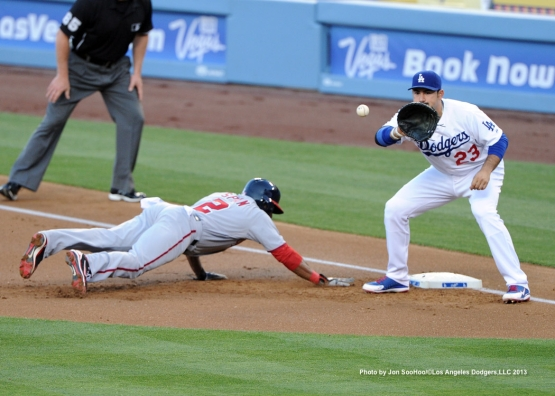WASHINGTON NATIONALS VS LOS ANGELES DODGERS