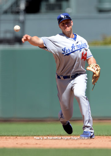 LOS ANGELES DODGERS AT SAN FRANCISCO GIANTS