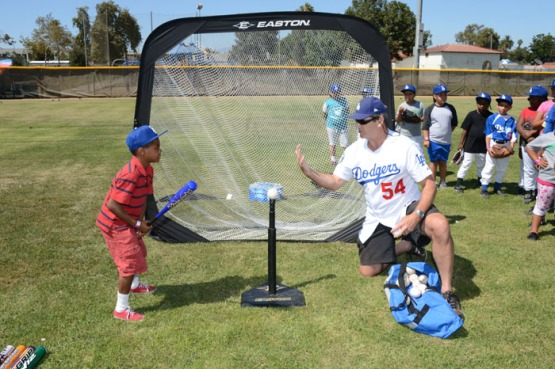 LOS ANGELES DODGERS FOUNDATION CLINIC