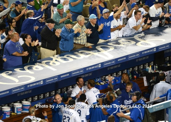 RAYS AT DODGERS