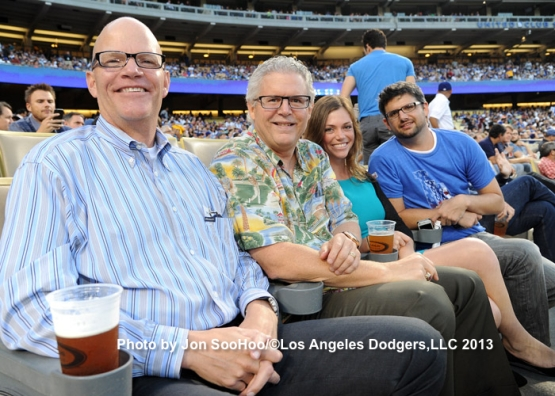 METS AT DODGERS