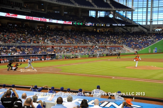 DODGERS AT MARLINS
