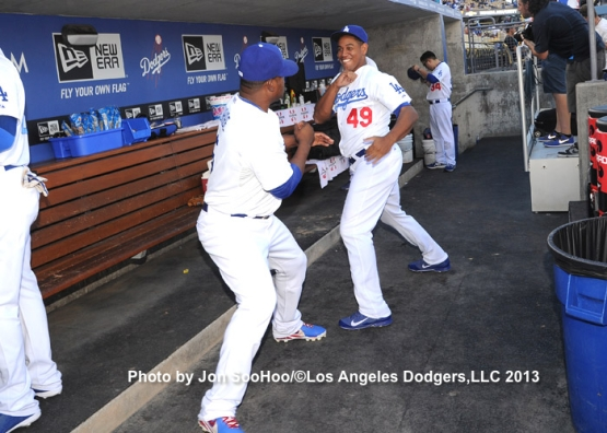 BOSTON RED SOX AT LOS ANGELES DODGERS